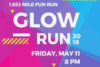 Central College Hosts Glow Run