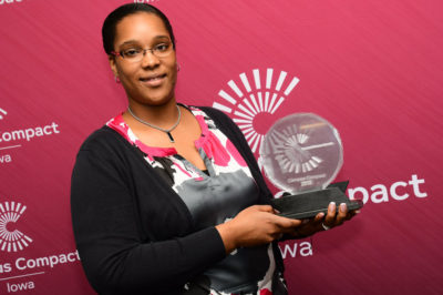 Central Alumna Wins 2018 Engaged Campus Award