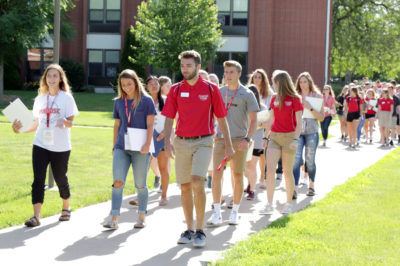 Central College Invites Students to Campus