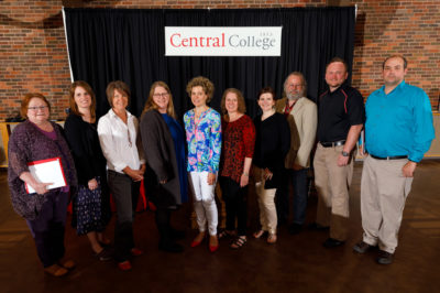 Central Faculty Receive Recognition, Tenure