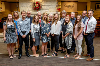 Central Honors Geisler Penquite Scholars