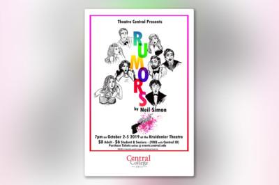 Central Theatre to Present 'Rumors'